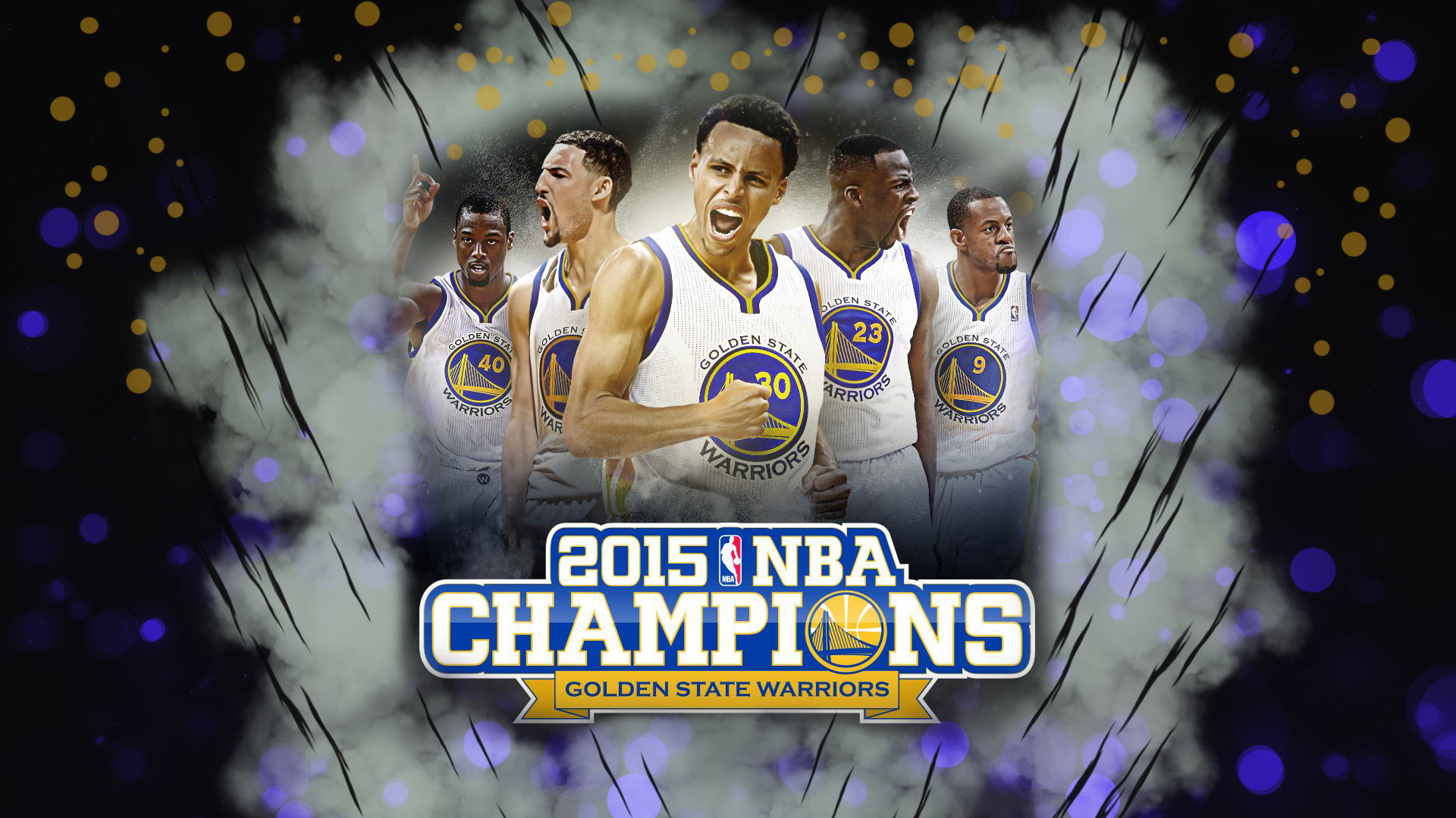 Golden State Warriors Wallpaper 2015 Golden State Warriors Wallpaper 1920x1080