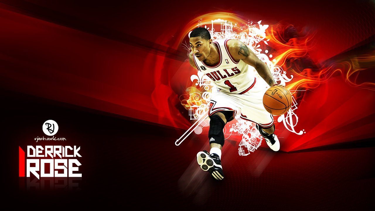 Derrick Rose Wallpaper by rjartwork 1280x720