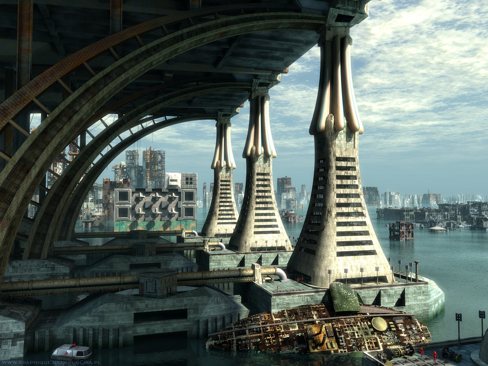 Free download Science Fiction Sci Fi 3d And Digital Art