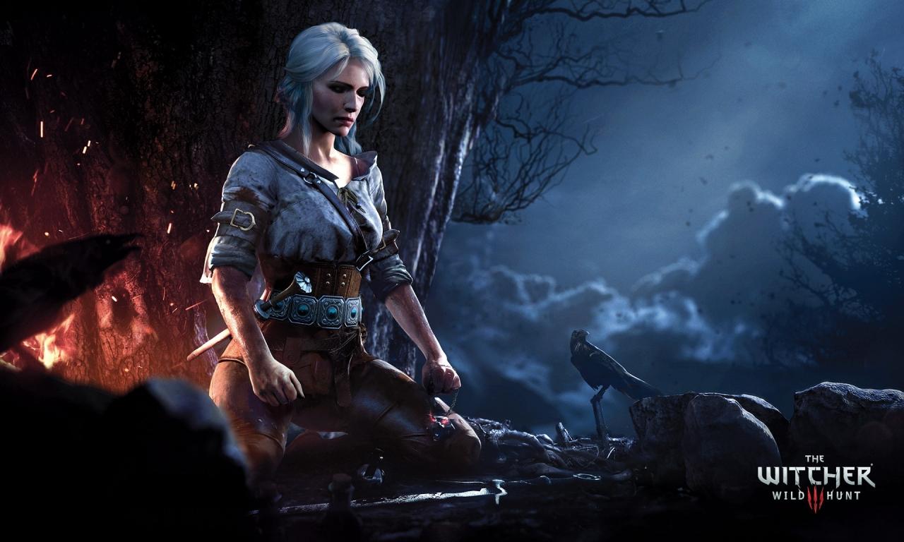Ciri de The witcher 3 Wild Hunt Wallpaper 1280x768 ID2498 1280x768