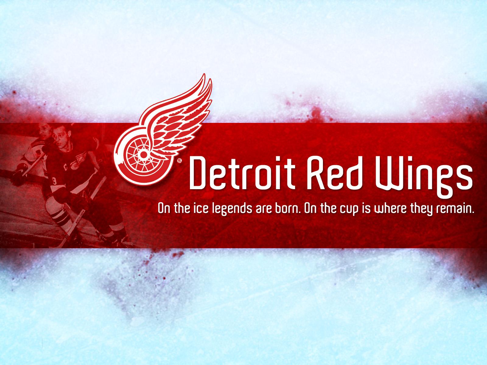 red wings logo wallpaper 1600x1200