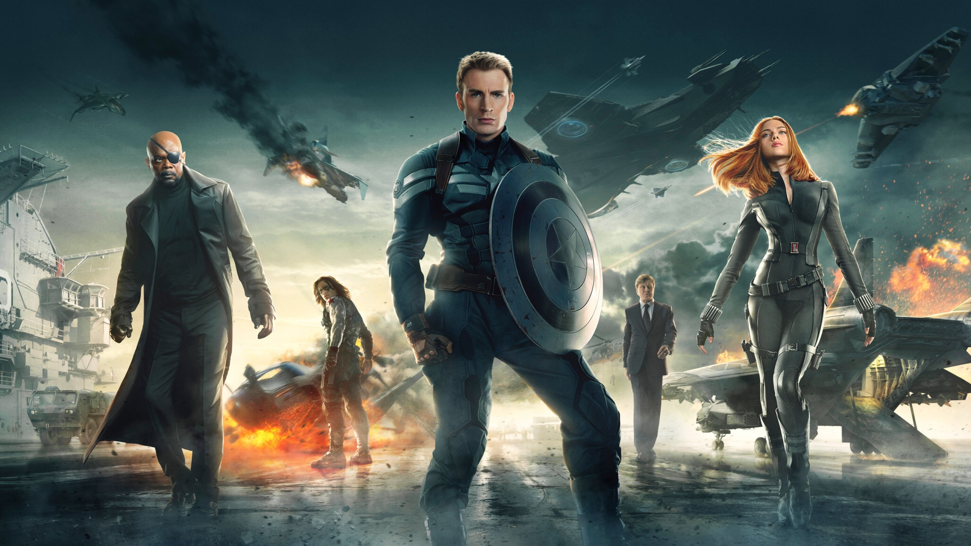 captain america winter soldier   Marvel Live action Movies Wallpaper 1920x1080