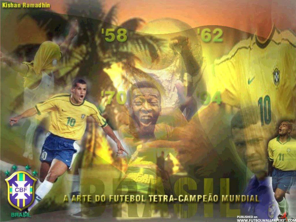 Many Football Wallpaper HD Soccer Wallpapers HD Resolutions Brazil 1024x768