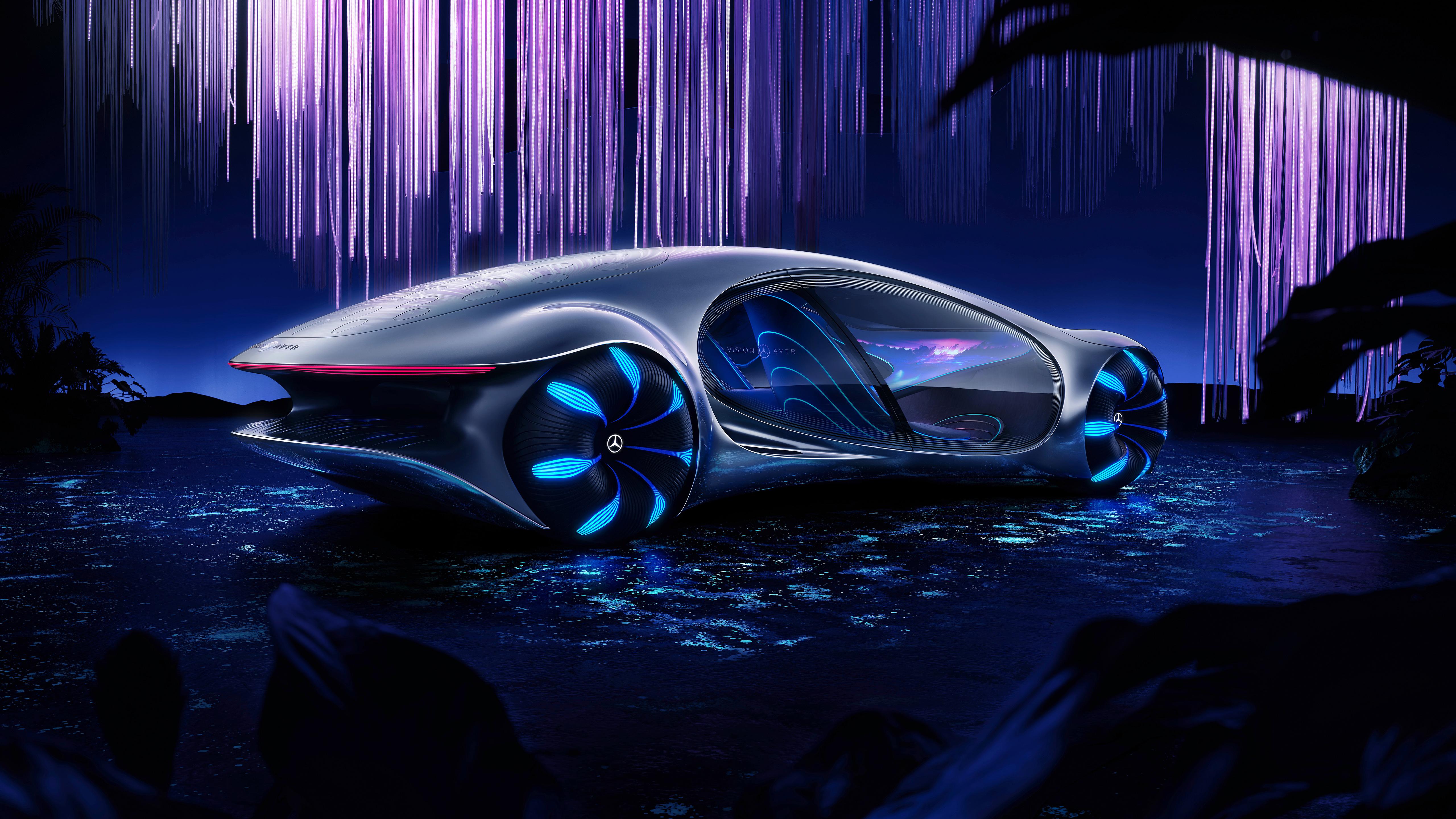 Mercedes Benz VISION AVTR 2020 5K Wallpaper HD Car Wallpapers 5120x2880