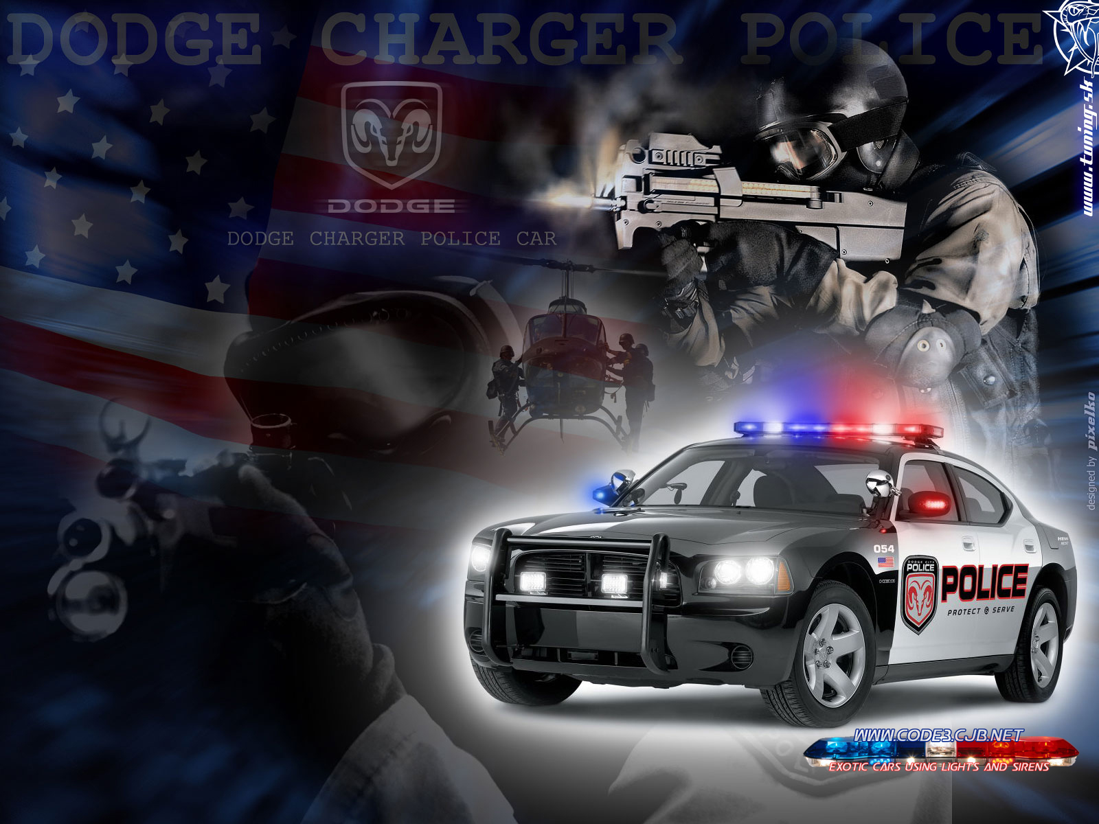 Police Car Wallpapers 1600x1200