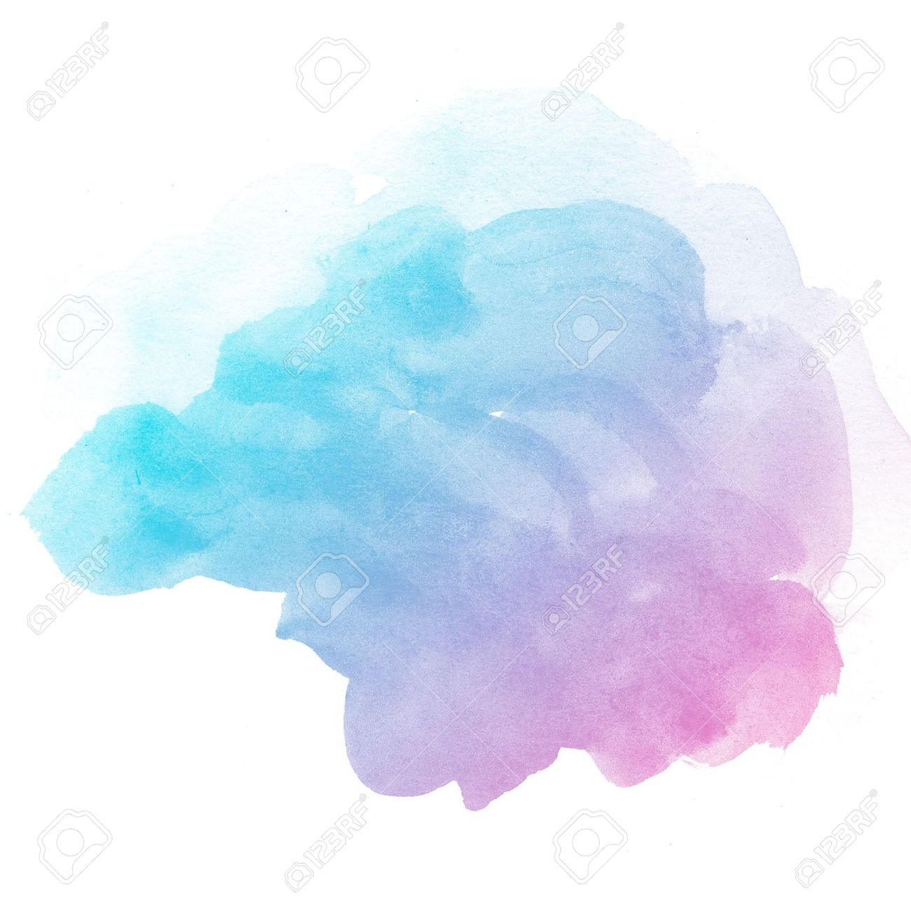 Abstract Watercolor Art Hand Paint On White Background Stock Photo 1300x1300