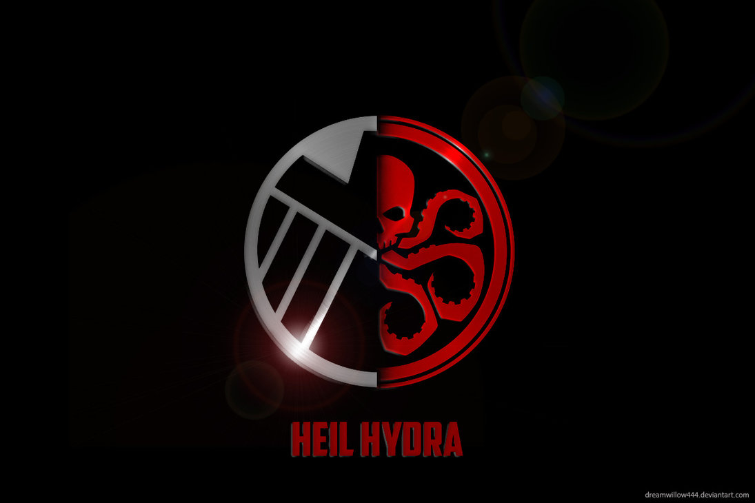 Wallpaper Hydra Logo Marvel