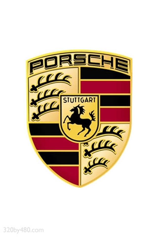 Porsche logo iPhone 44s wallpaper and background 640x960