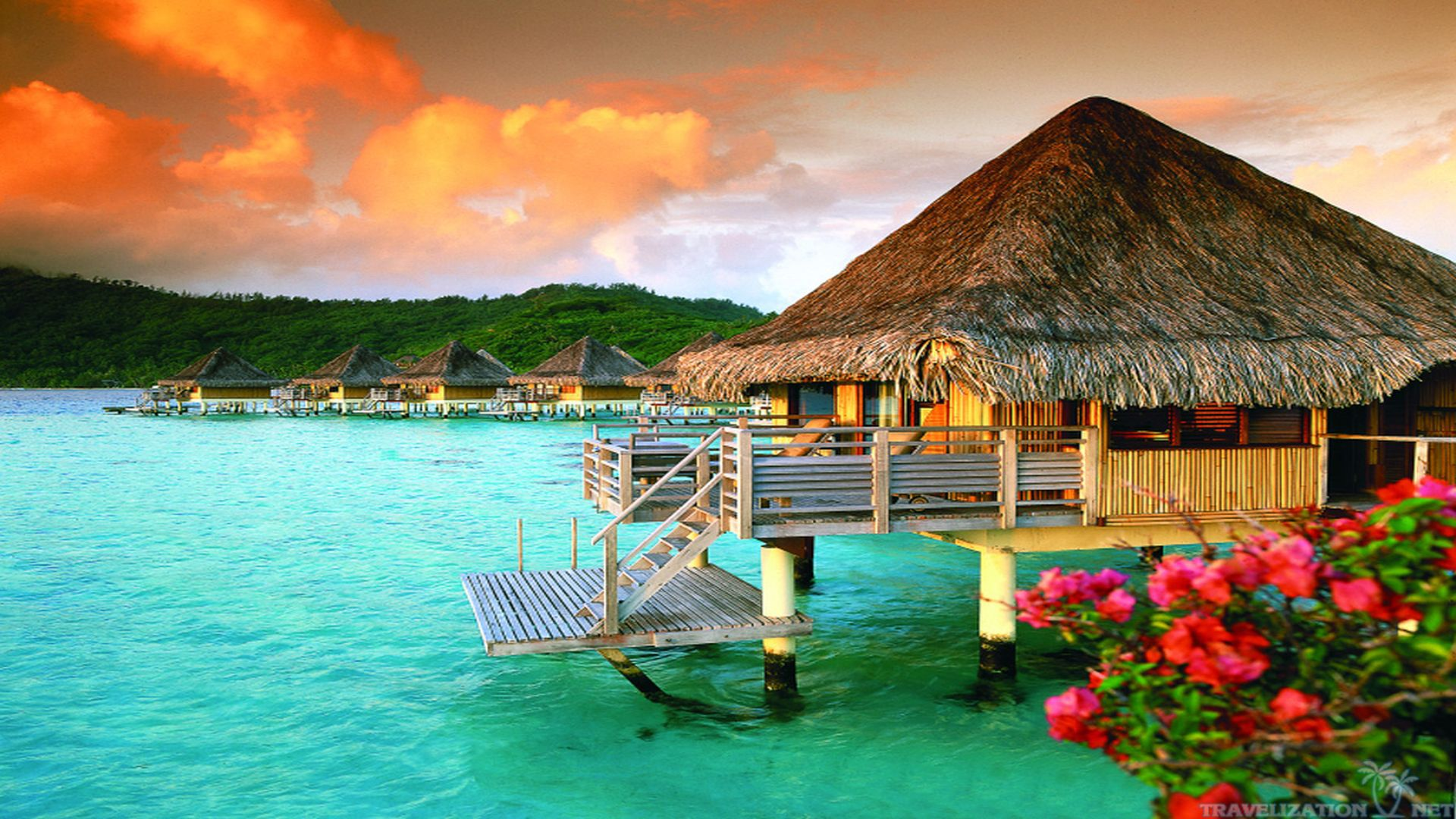 Download Bora Bora Island Wallpaper Widescreen m97 1920x1080 px 356 1920x1080