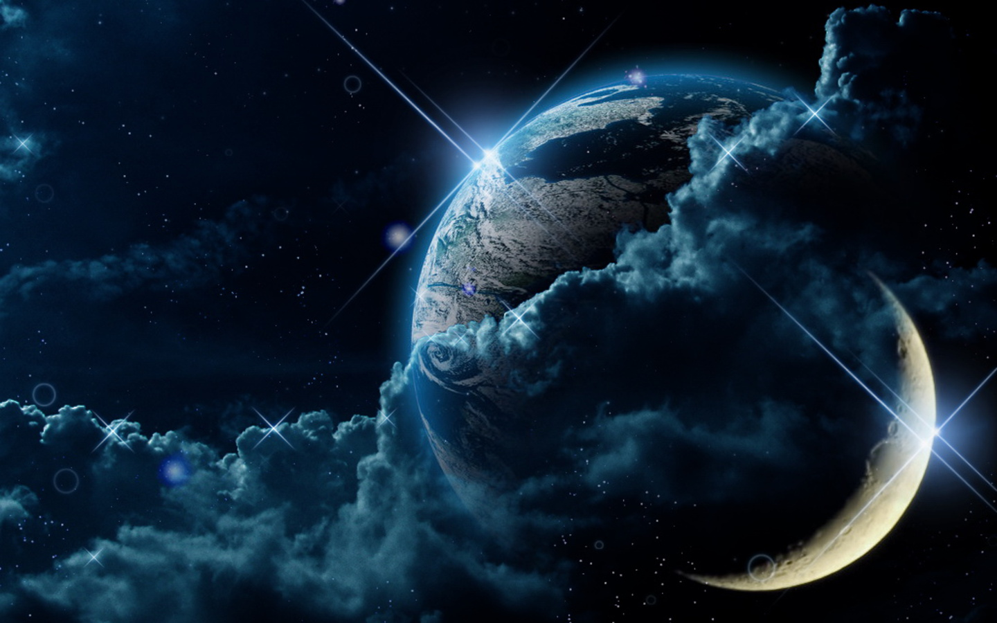 Fantasy Mysterious Space Wallpaper 1440x900 Full HD Wallpapers 1440x900