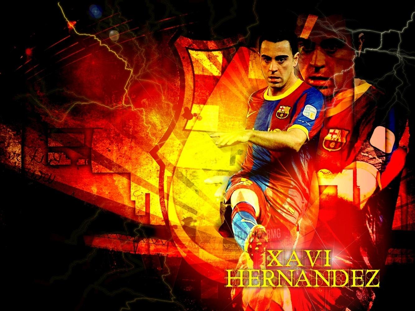 Xavi Hernandez Xavi FC Barcelona Wallpaper 1333x1000