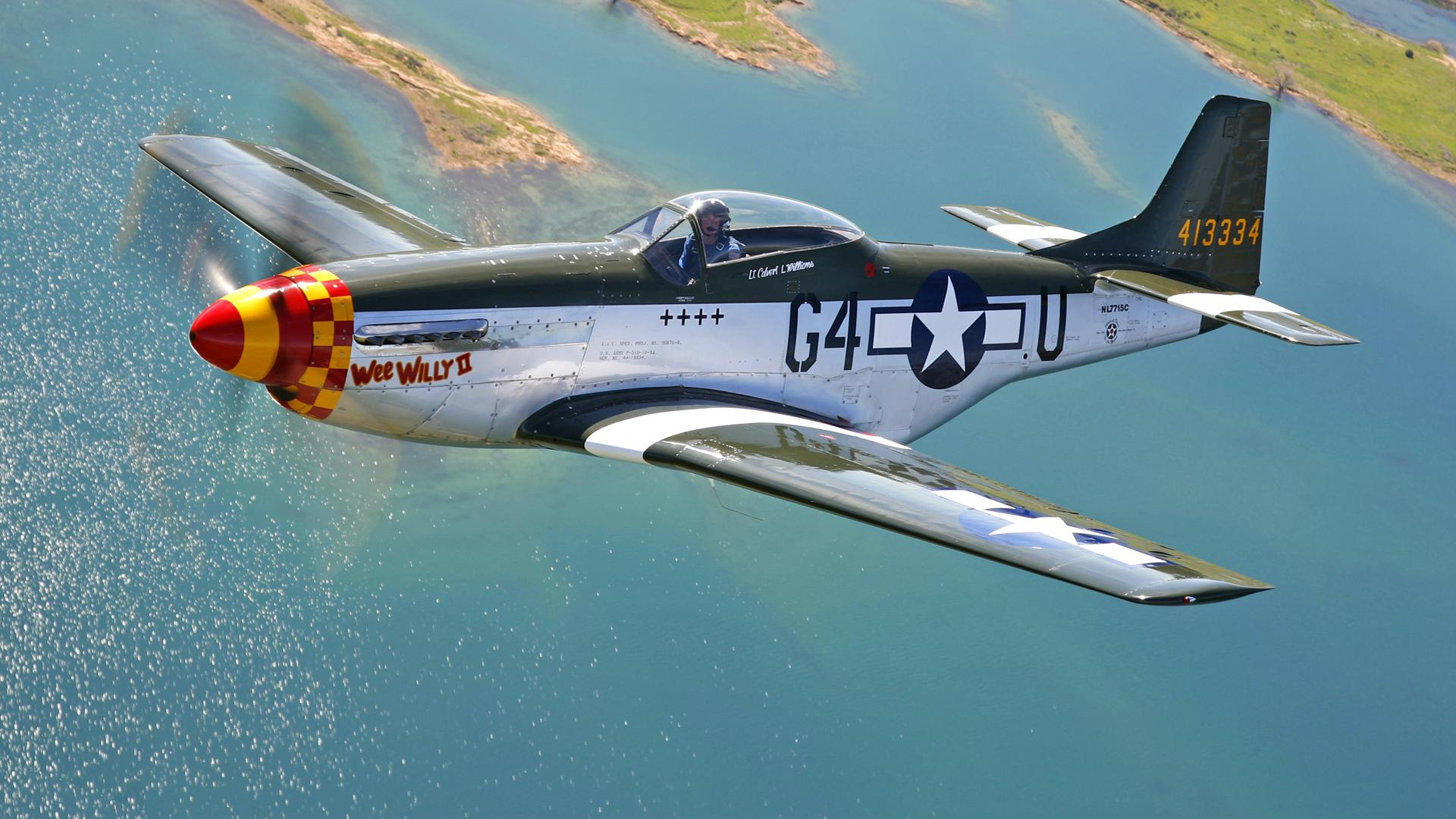 airplanes p 51 mustang HD Wallpaper   Cars Trucks 523521 1920x1080