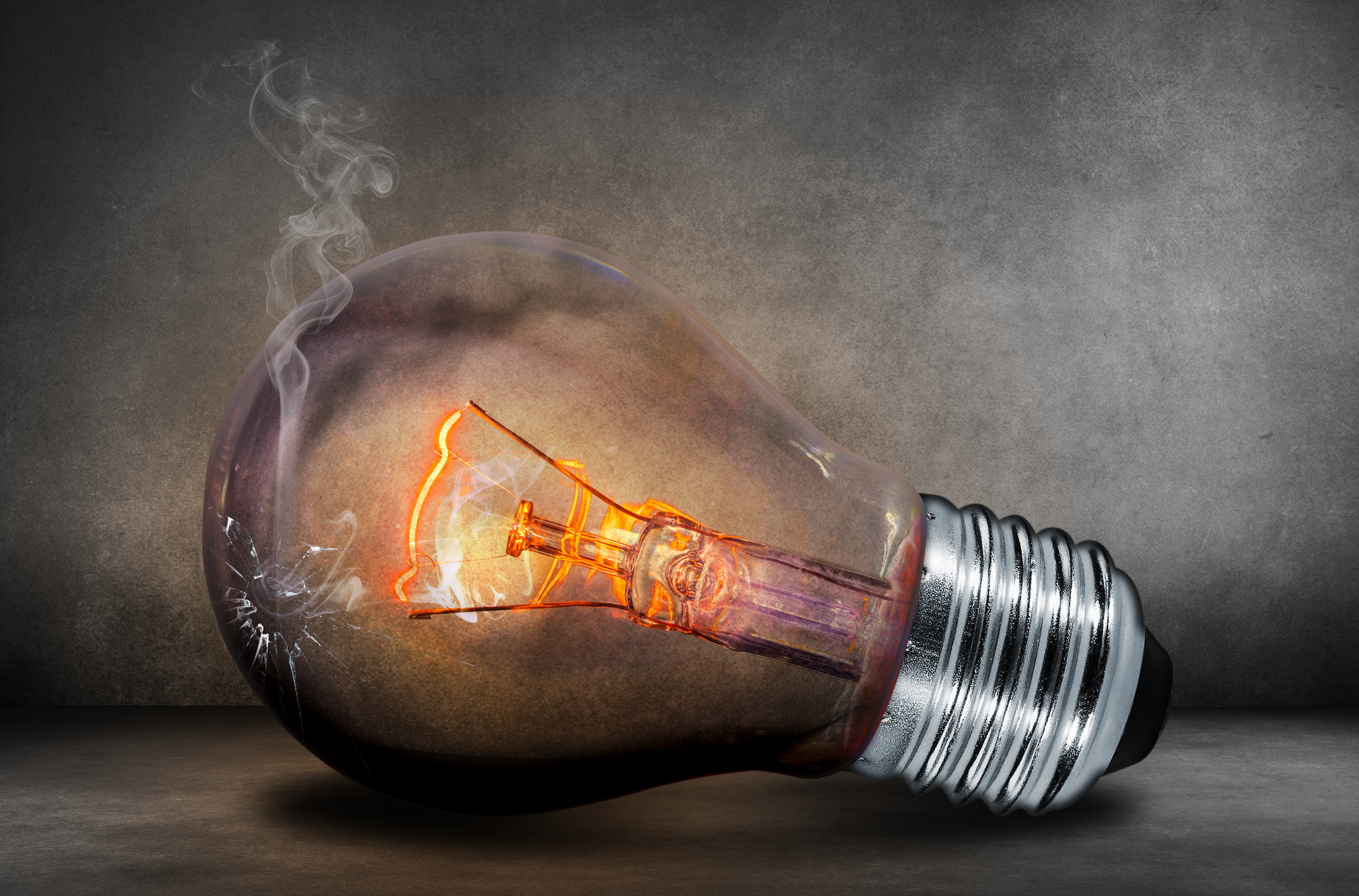 Turned on incandescent bulb HD wallpaper Wallpaper Flare 4648x3065