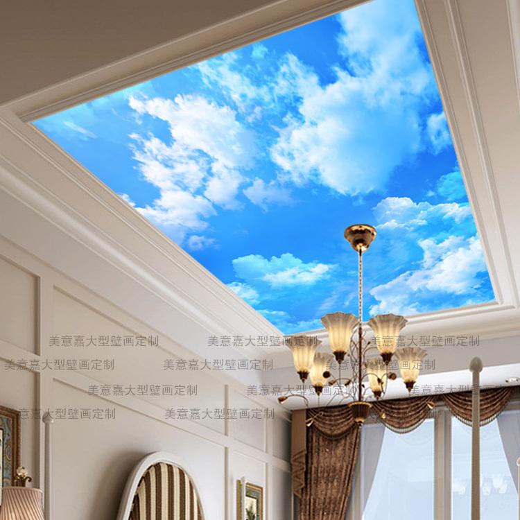 sky wallpaper for ceiling wallpapersafari