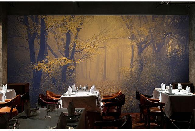 Aliexpresscom Buy 3D mysterious forest wallpaper Room 640x432