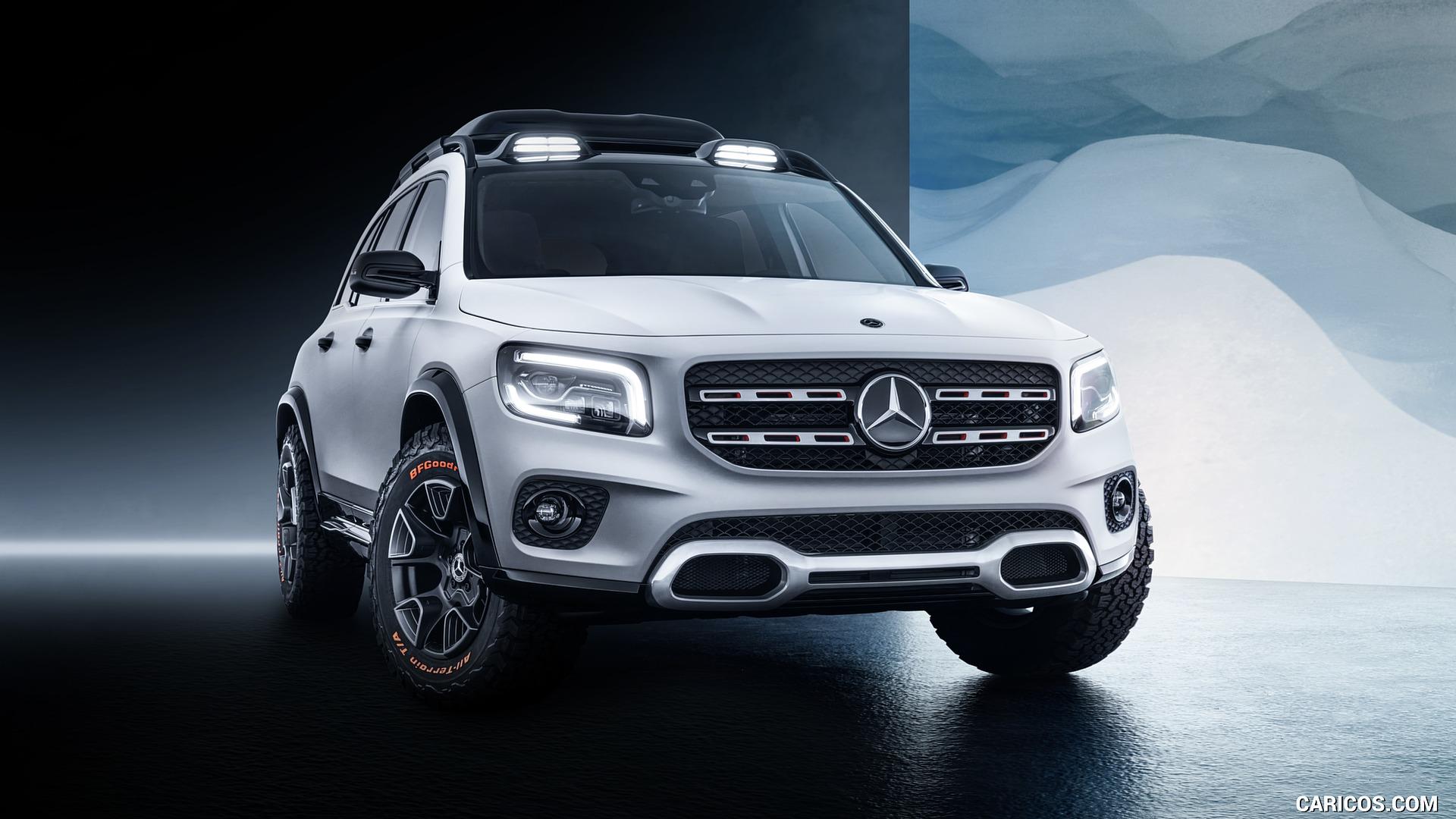 2019 Mercedes Benz GLB Concept   Front HD Wallpaper 4 1920x1080