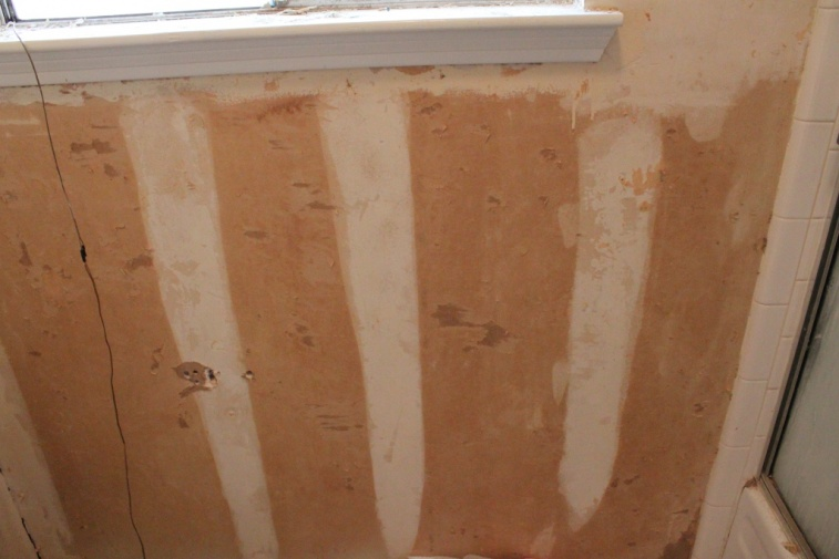 Fixing Drywall After Removing Wallpaper   Painting   DIY Chatroom Home 757x505
