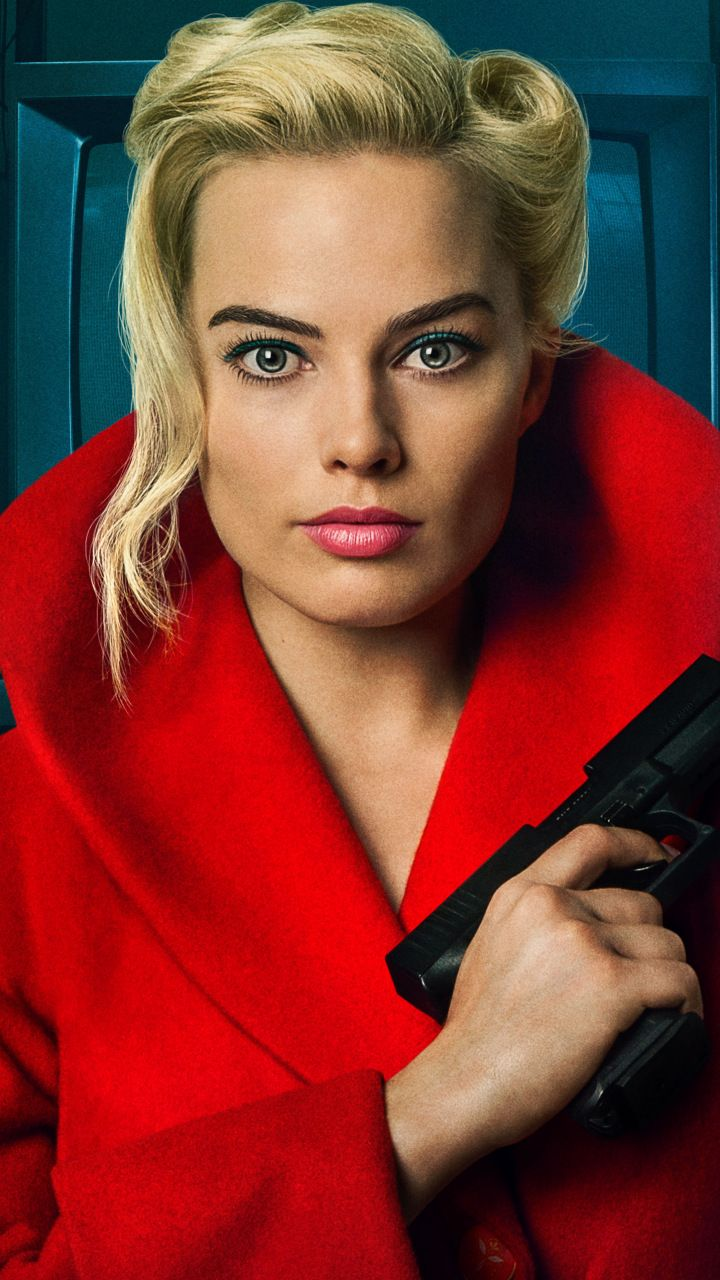 Margot Robbie Terminal 2018 movie poster 720x1280 wallpaper 720x1280