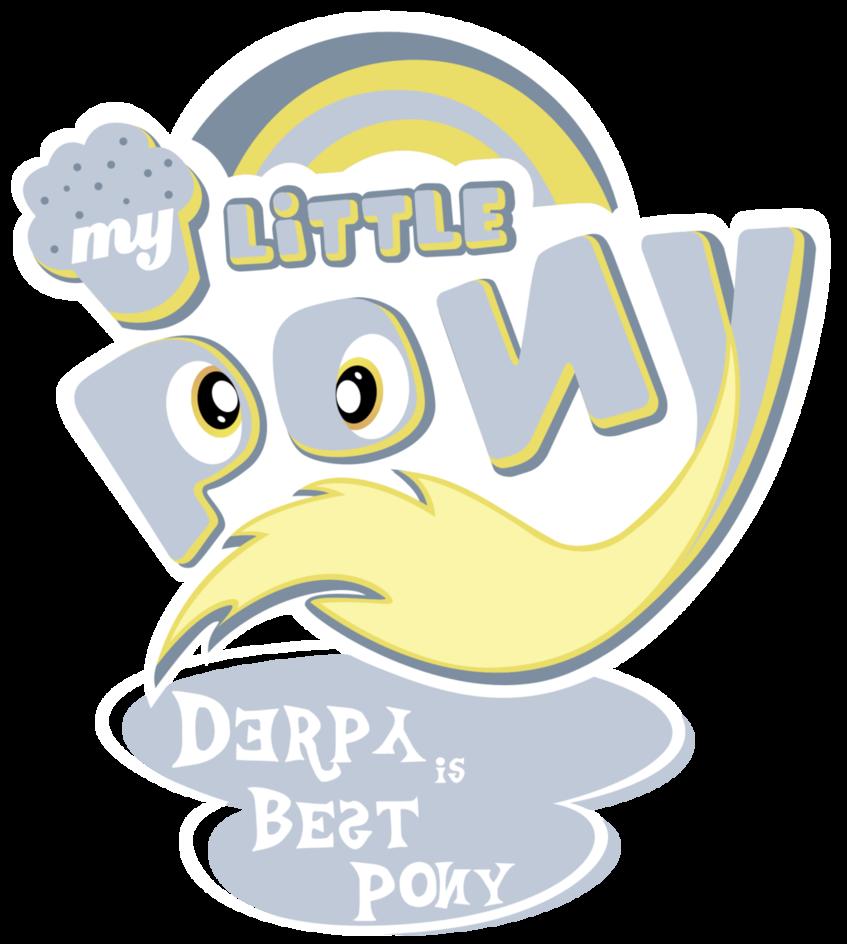 Fanart   MLP My Little Pony Logo   Derpy by jamescorck 847x944