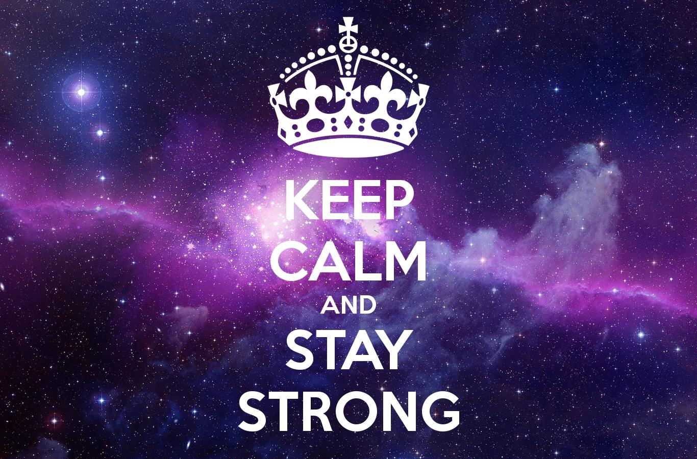 Stay Calm Wallpaper