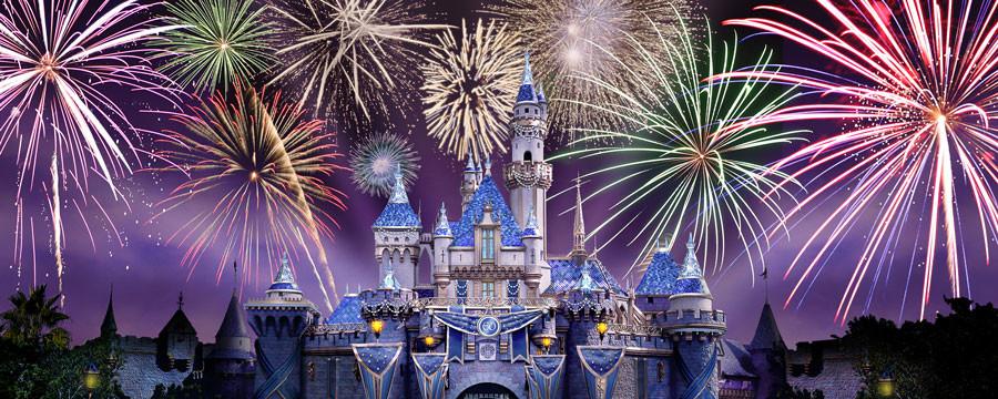 Sleeping Beauty Castle at the Disneyland Resort Diamond Celebration 900x360