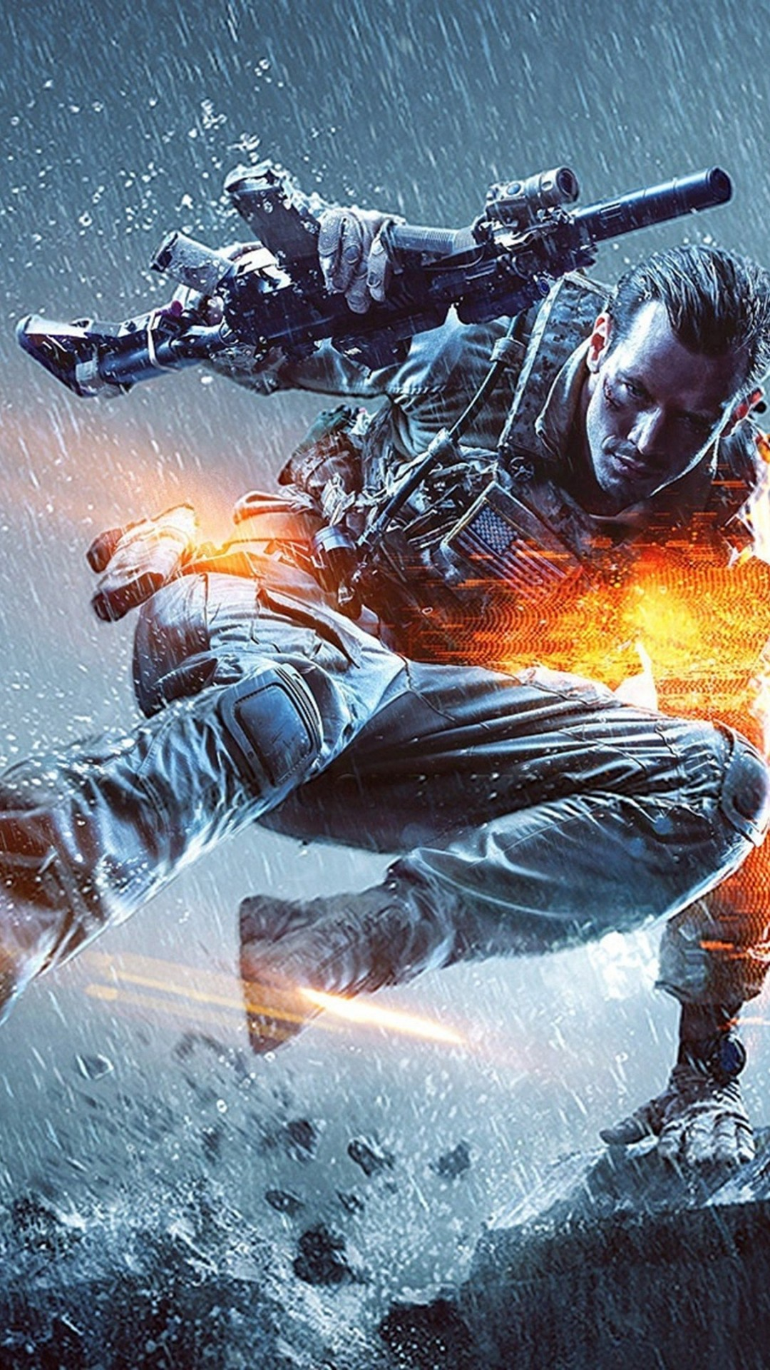 Battlefield 4K Ultra HD wallpaper 4k WallpaperNet 1080x1920