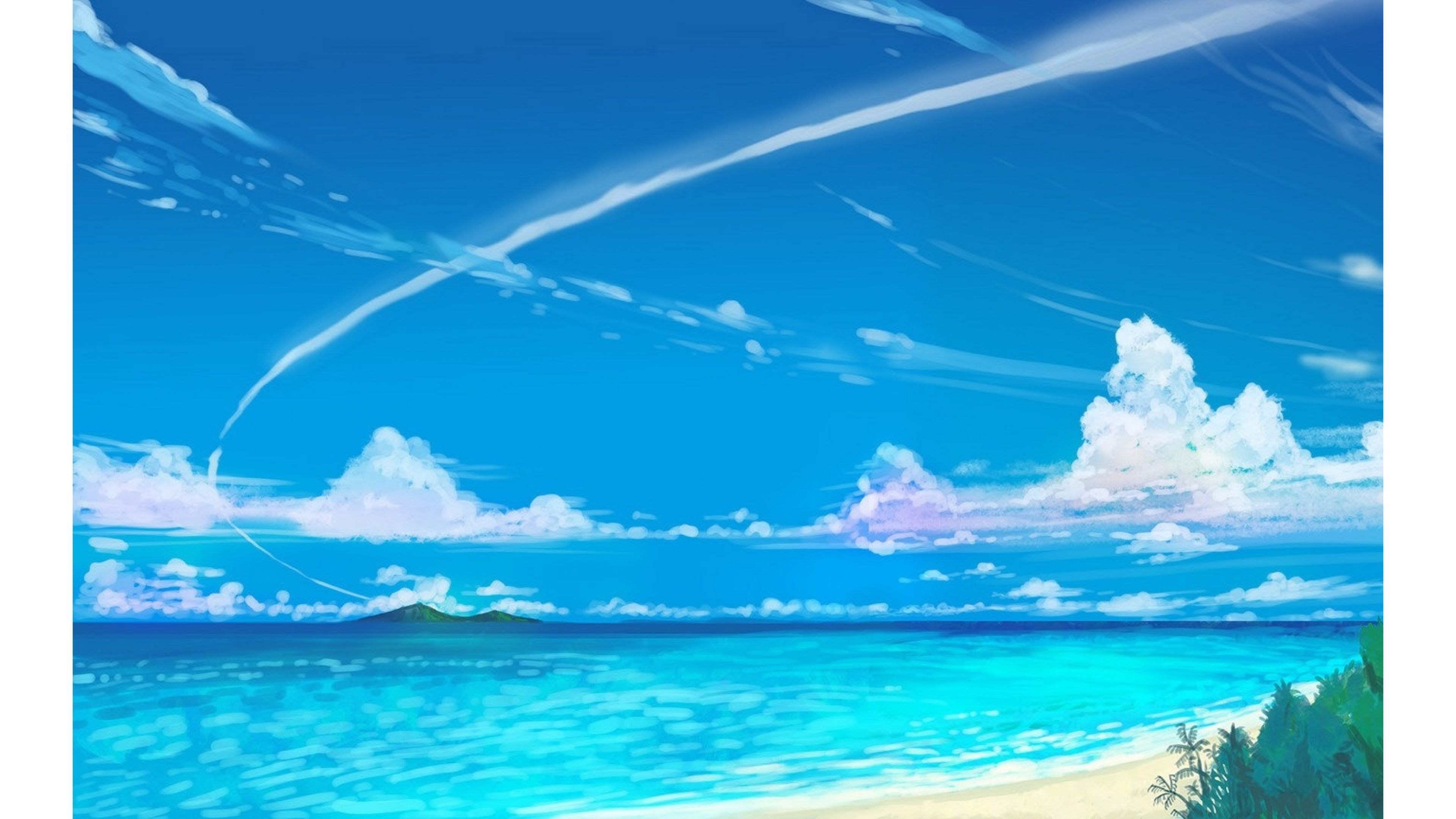 Summer Sky Wallpaper Related Keywords amp Suggestions 3840x2160