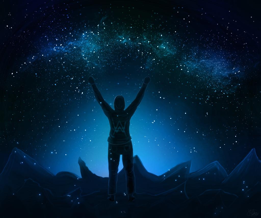 Alan Walker by MidnightCielo 1024x854