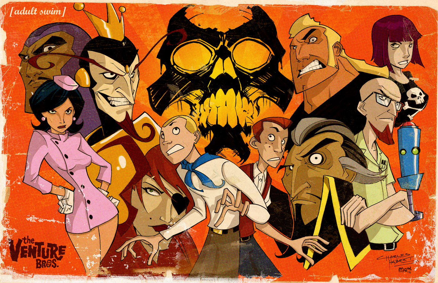 The Venture Bros Wallpapers and Background Images   stmednet 1400x906