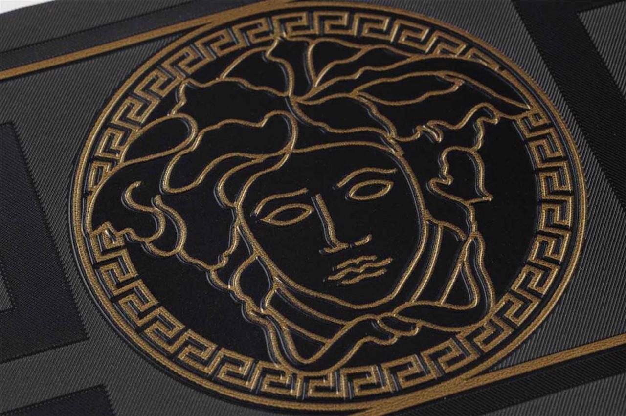 Free Download Versace Logo Wallpaper Gold Versace Home Wallpaper