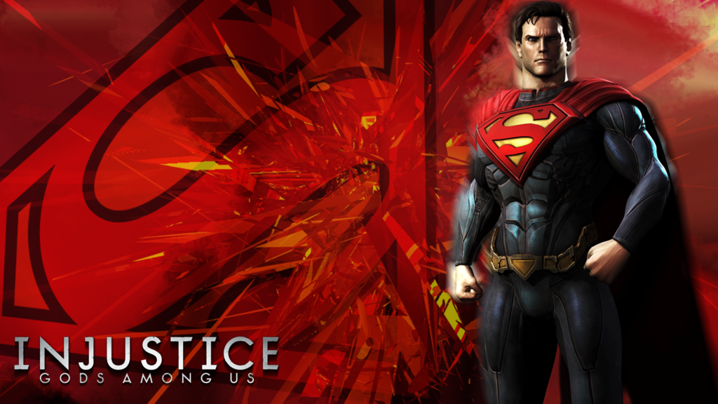 Injustice Gods Among Us Superman Wallpaper by KidsleyKreations on 1024x576