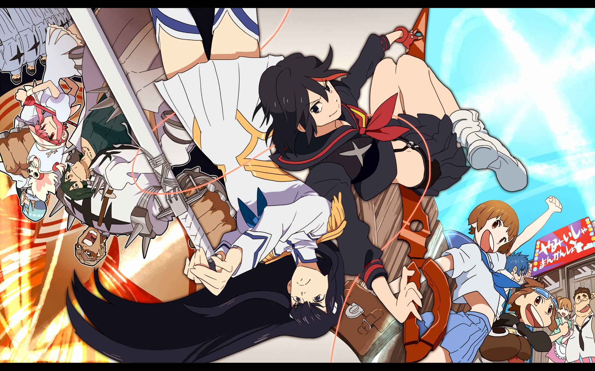 10 Fantastic Kill La Kill Wallpapers Daily Anime Art 1920x1200