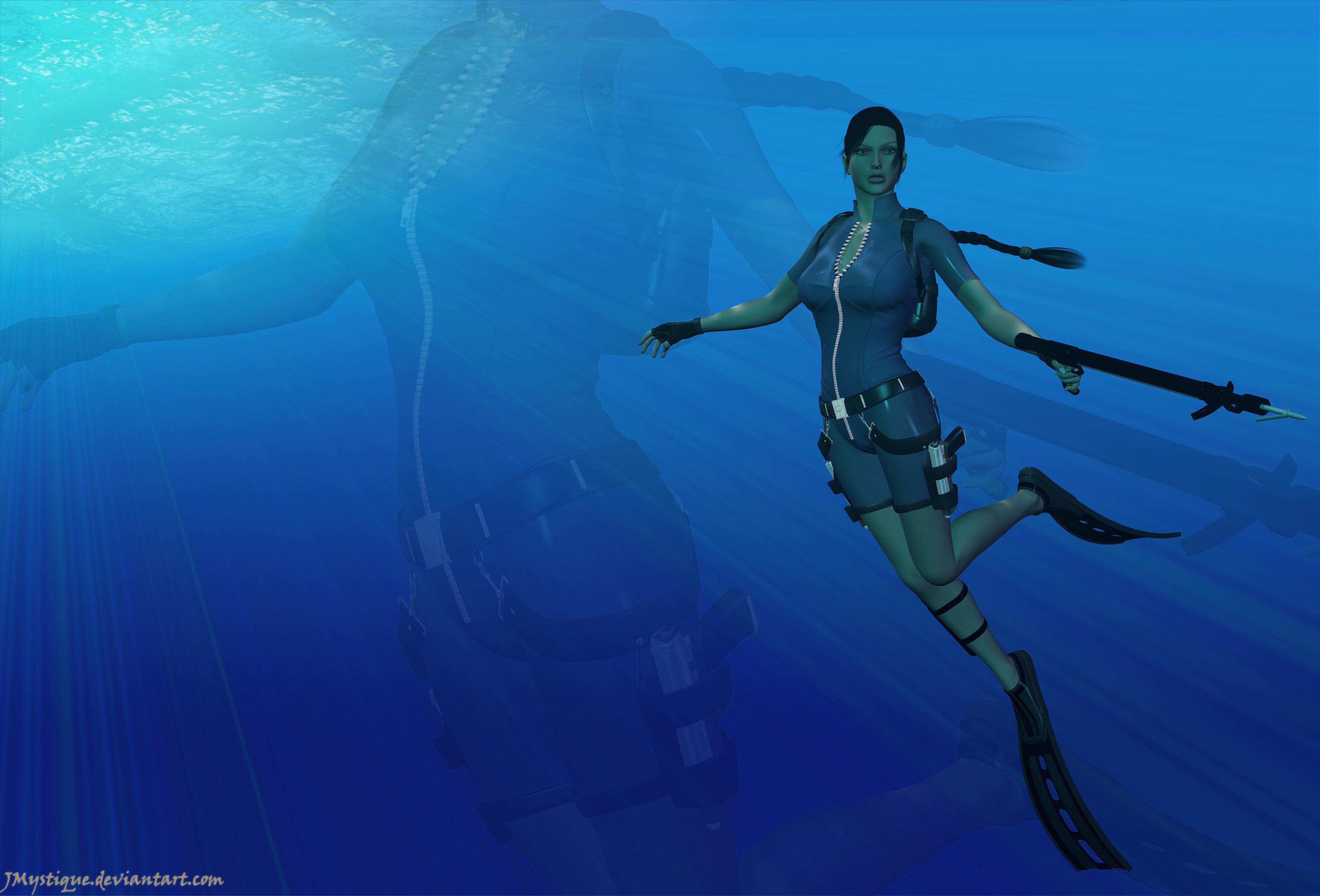 underwater cartoon wallpaper - photo #22