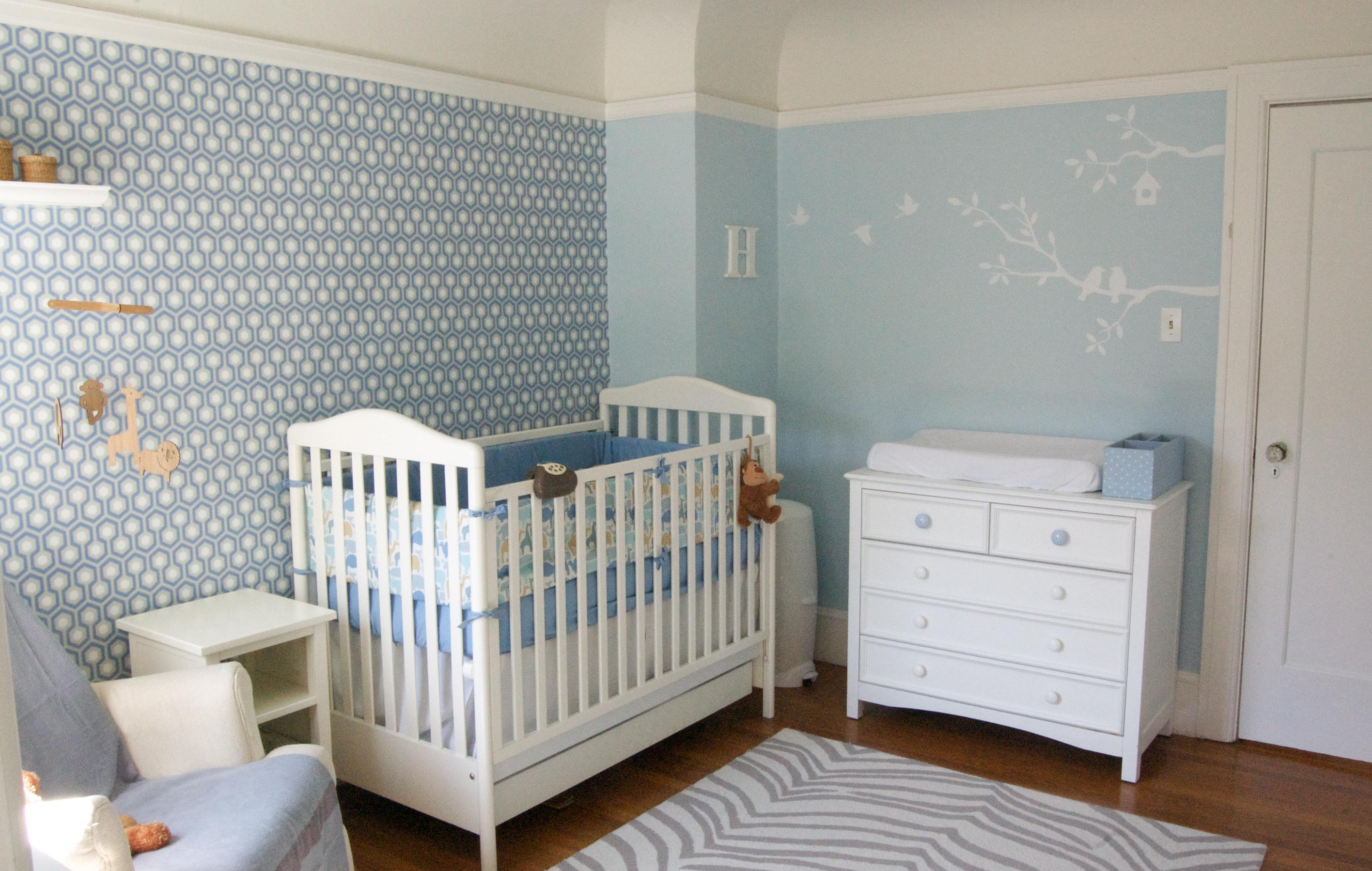Custom Nursery Art by Kimberly: Top Baby Boy Nursery Designs of 2011