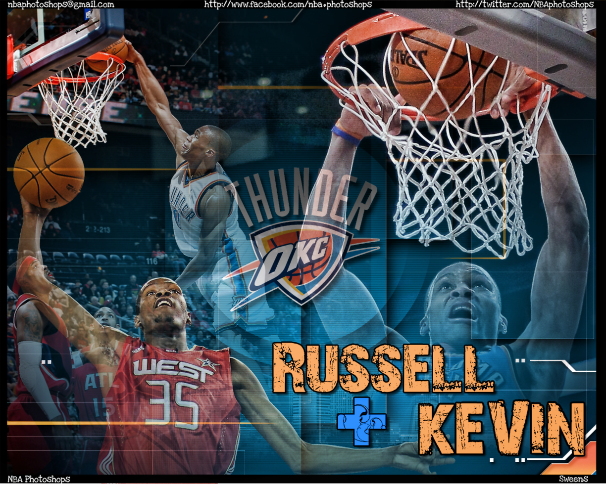 Russell westbrook wallpaper iphone wallpapersafari - Funmozar Russell Westbrook And Kevin Durant Wallpapers