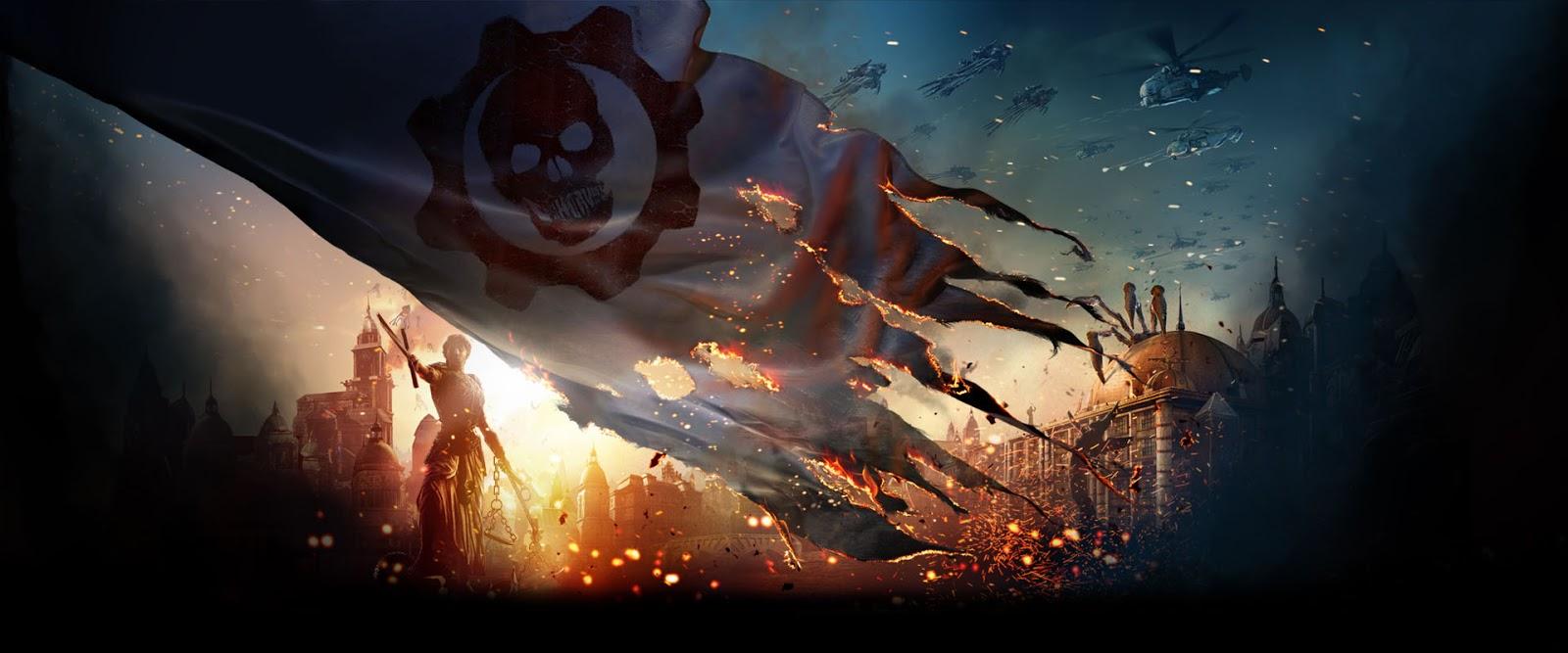 by LEAGUE OF FICTION Gears of War 4 Judgement HD Desktop Wallpaper 1600x667