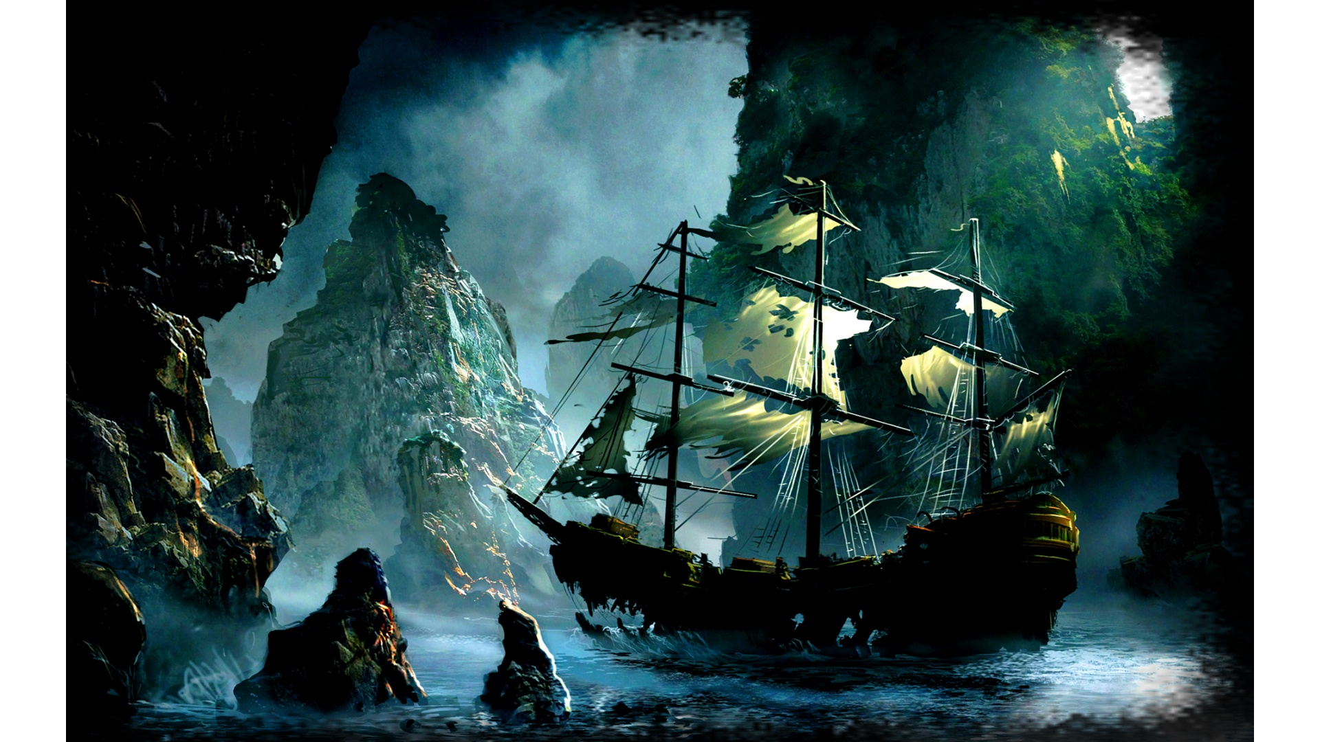 Pictures Ship In Pirates Of The Caribbean 4 Wallpapers Hd 1920x1080