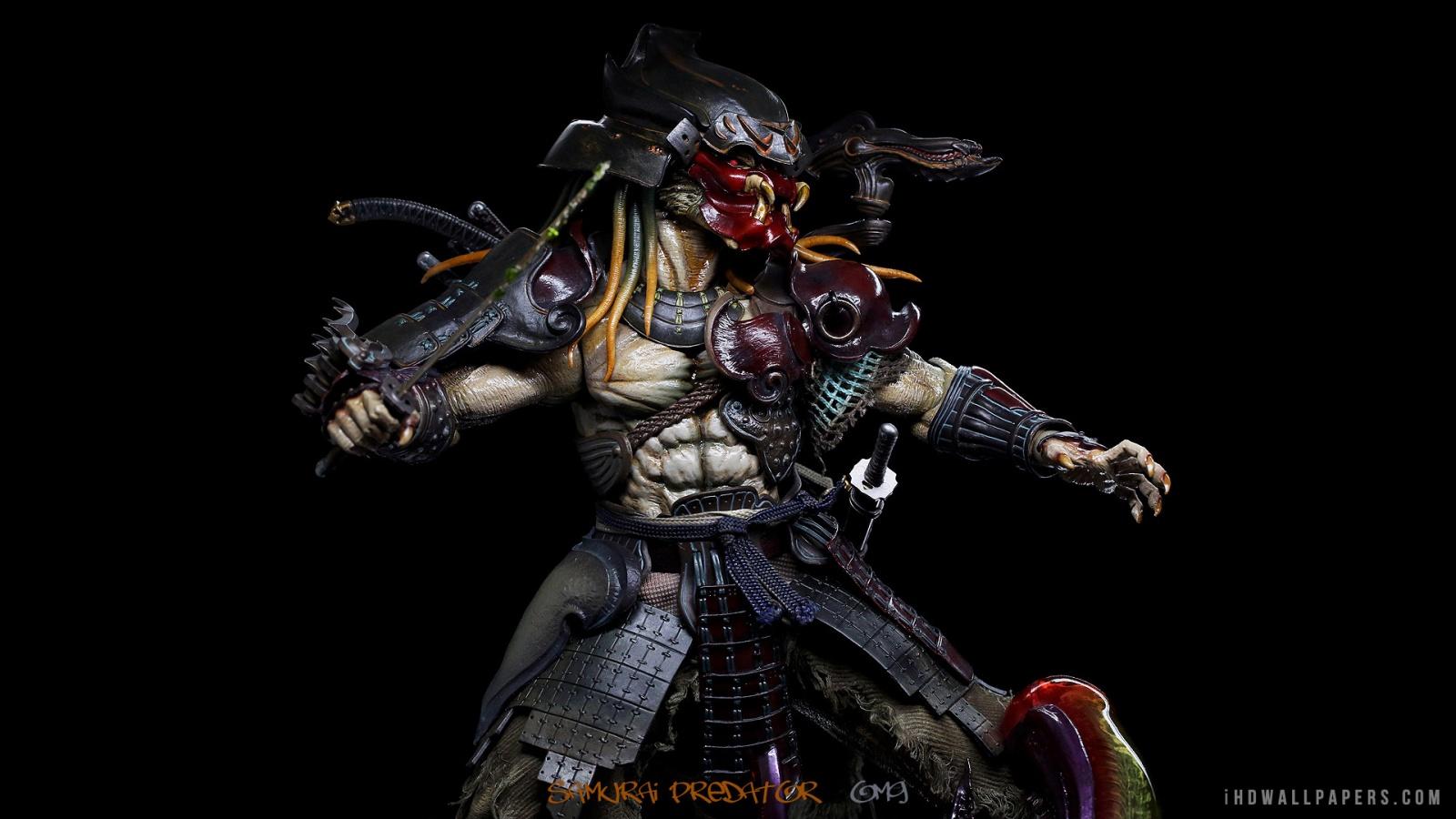 Samurai Predator HD Wallpaper   iHD Wallpapers 1600x900