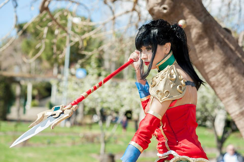 Warring Kingdoms Nidalee cosplay by Elifissa 960x638