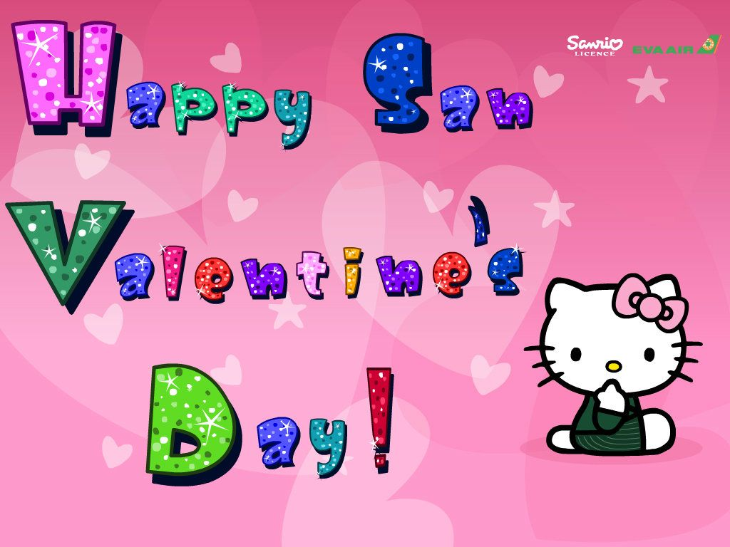 hello kitty san valentines day   Hello Kitty Fan Art 33605049 1024x768