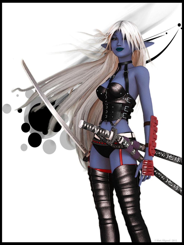 Blade Dancer by Ascavilya 1024x1365
