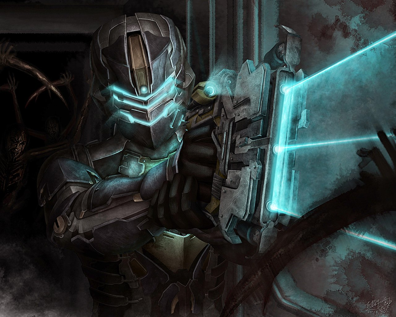 Dead Space 2 Wallpaper in 1280x1024 1280x1024