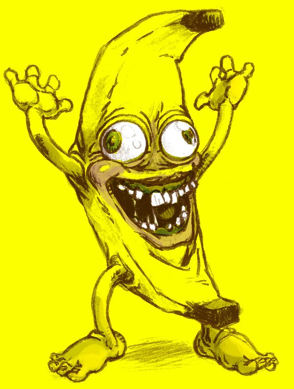 DANCING BANANA by KGBigelow 600x794