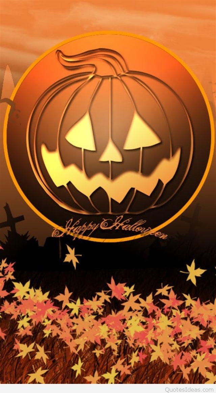 wallpapers pumpkin happy halloween 640x1163