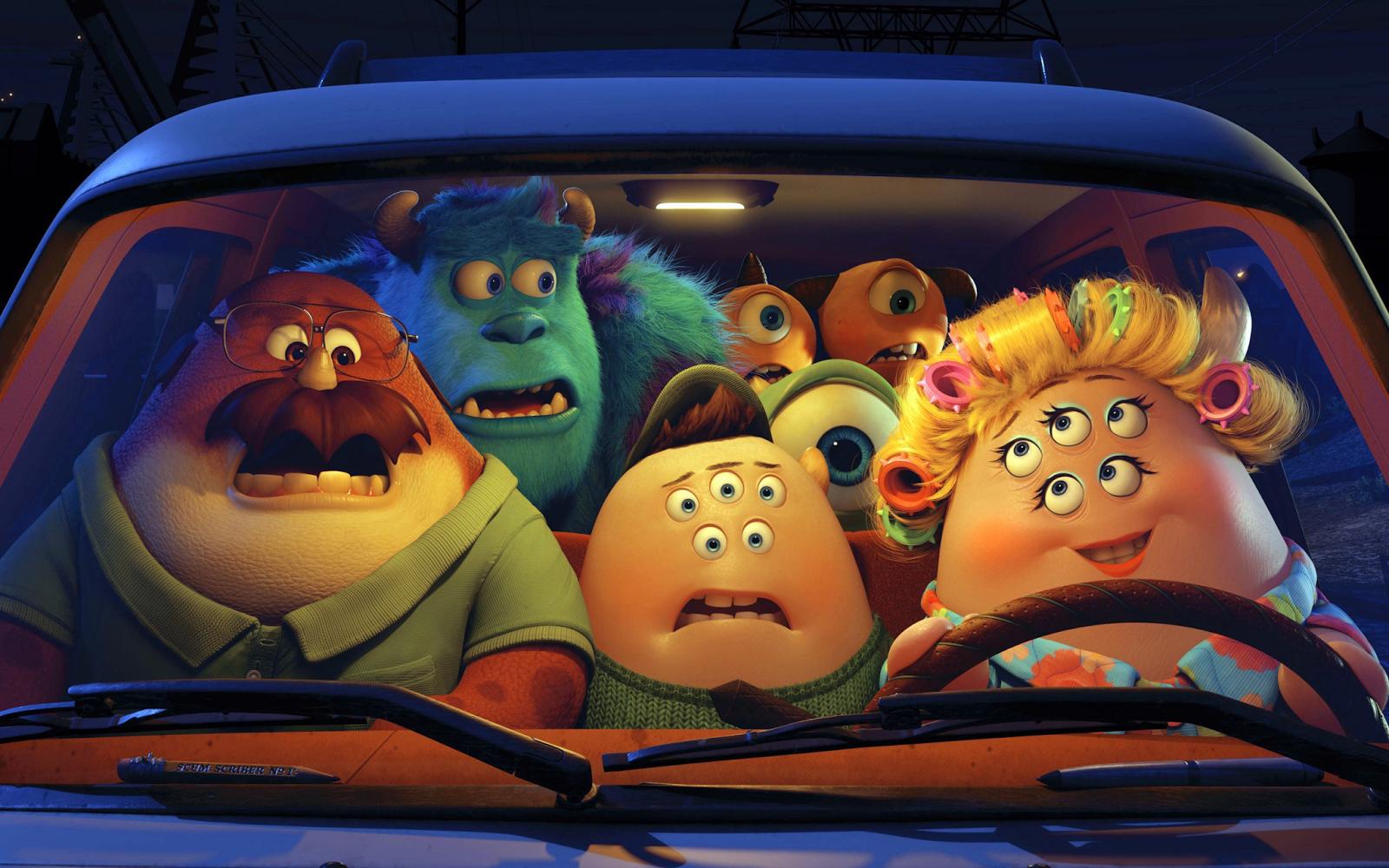 Monsters University Animation Movie Wallpaper HD Desktop Wallpapers 1600x1000
