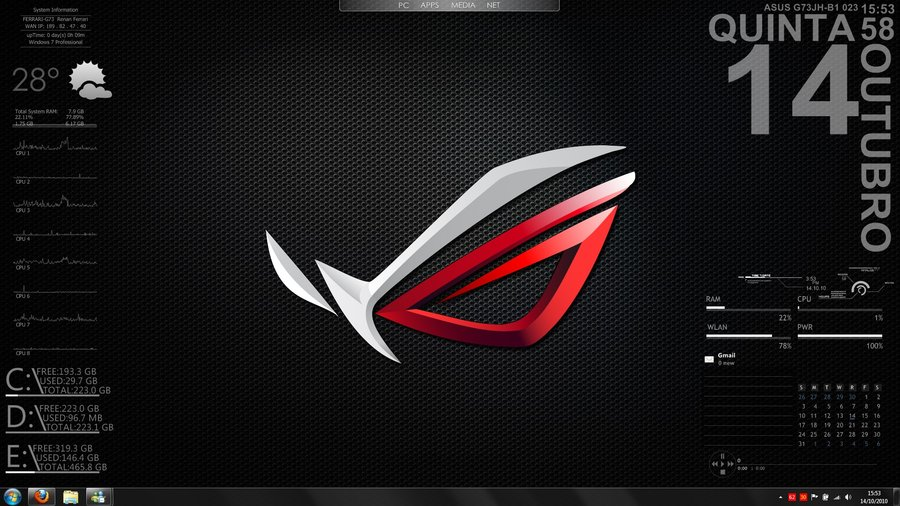 Asus Rog Desktop 1920x1080 Wallpaper This Has Been Picture 900x506