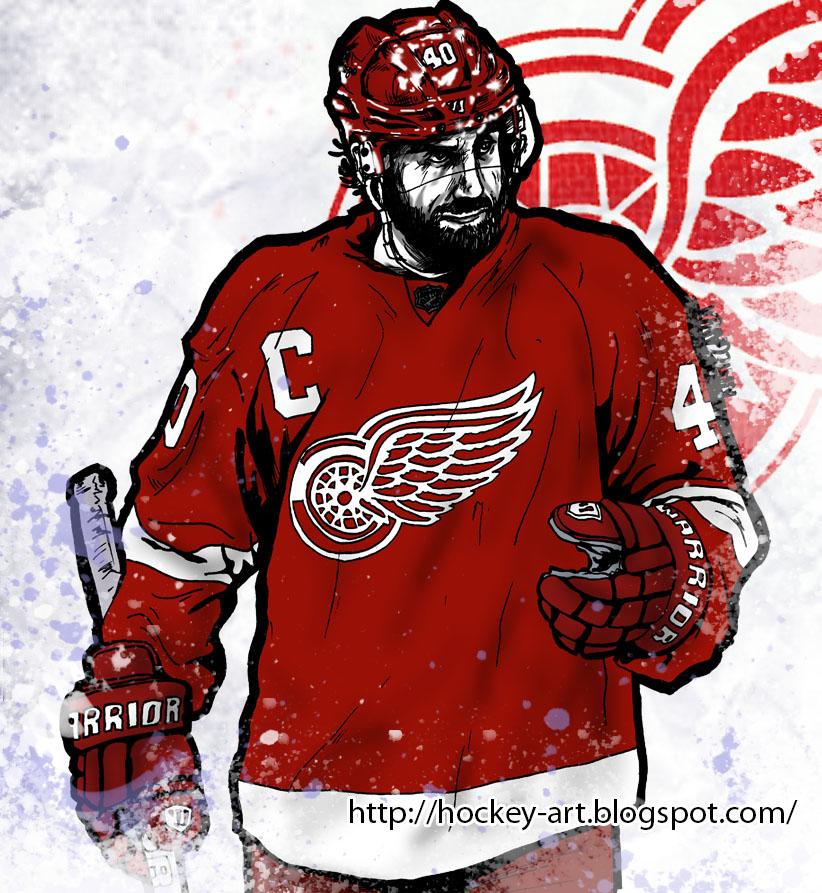 Hockey in art 2013 Stanley Cup Playoffs Round 2 Chicago 822x893