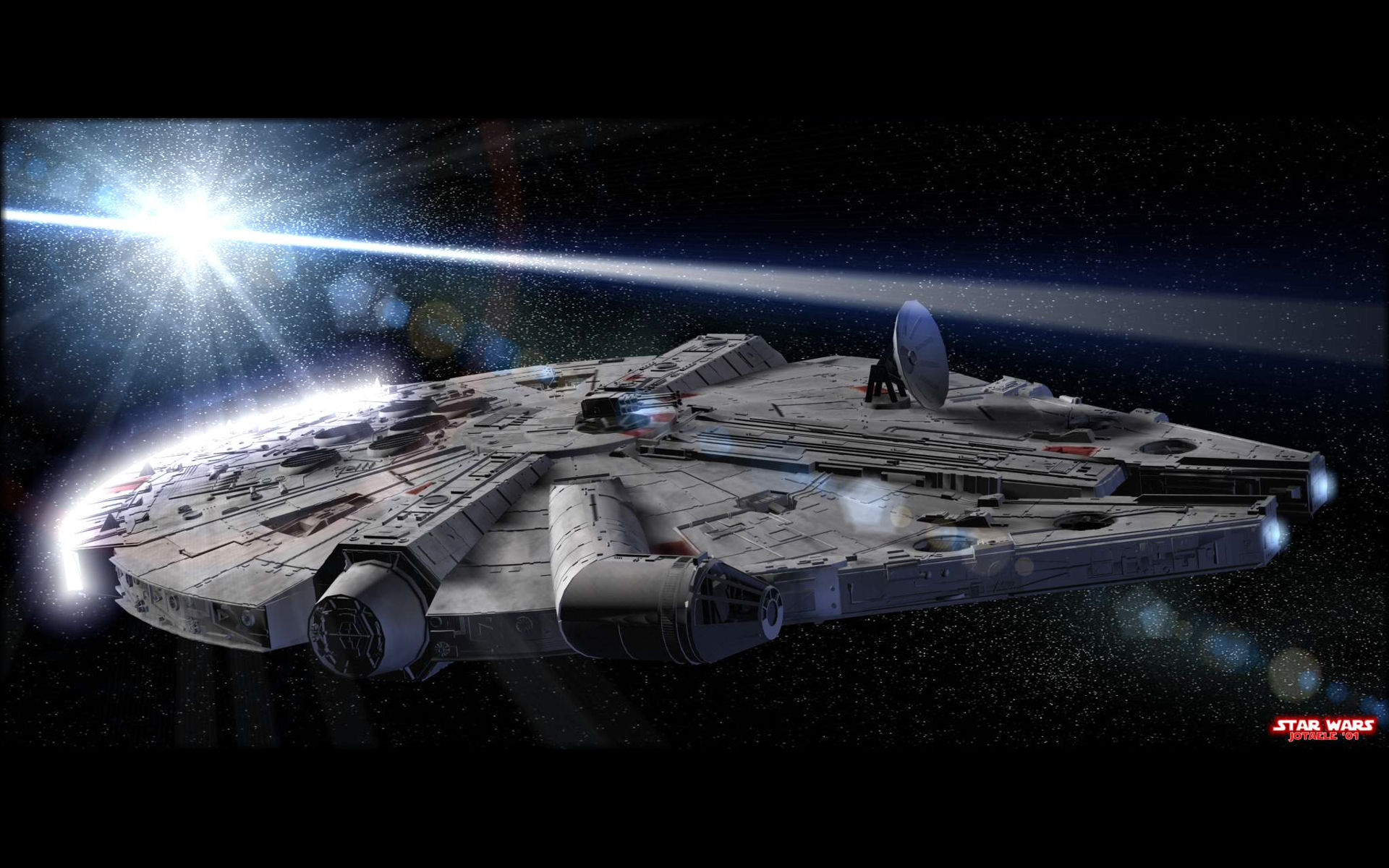 Millennium Falcon   Star Wars wallpaper   48862 1920x1200