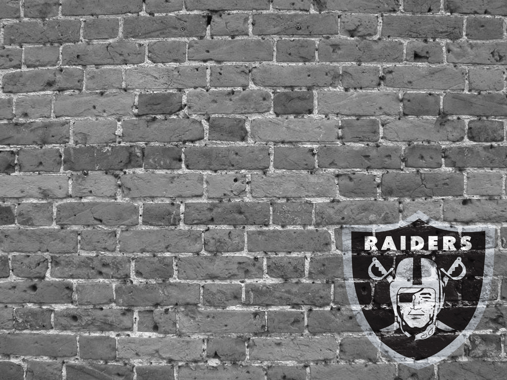 Related raiders brick wall by nflviewcom 1024x768