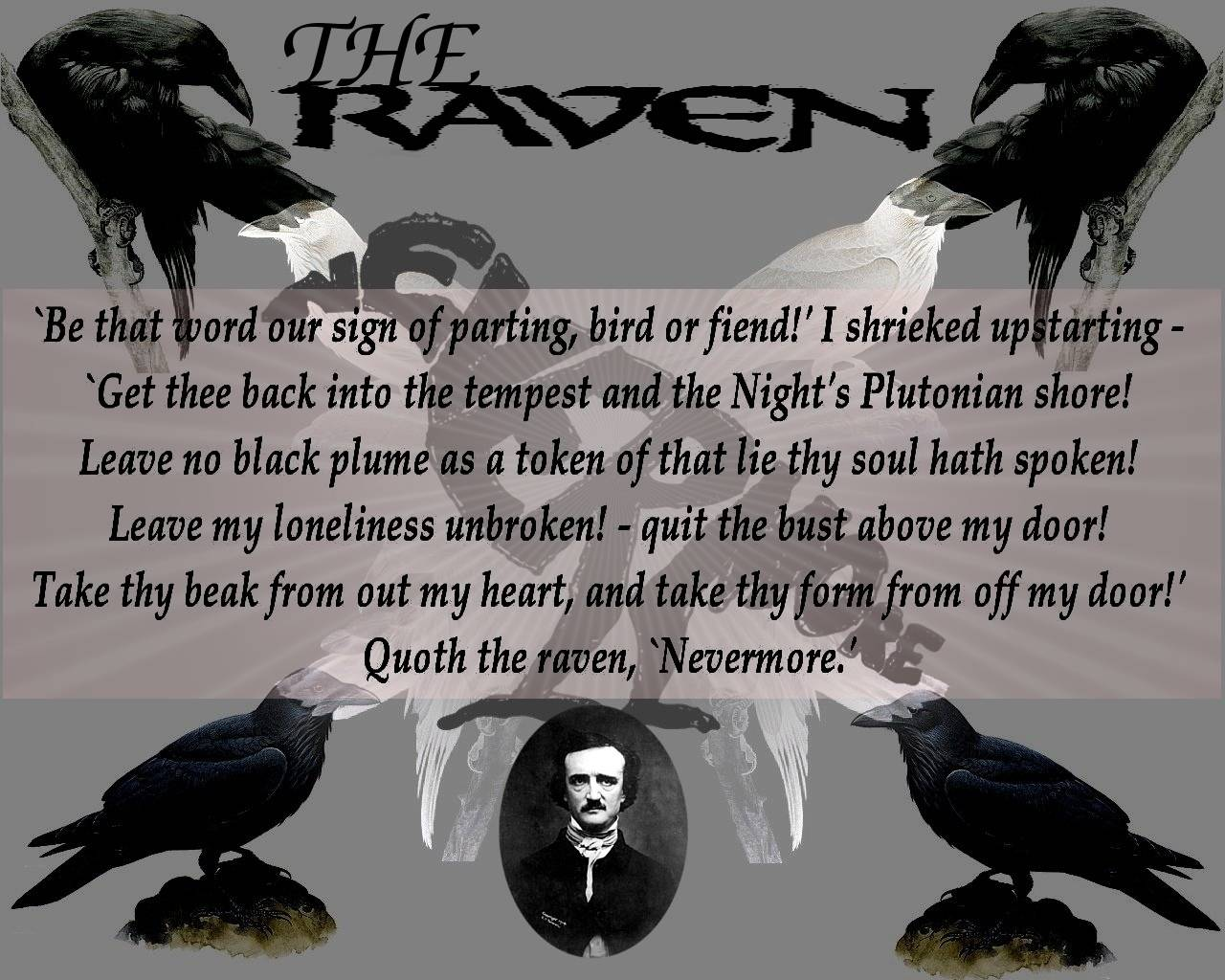 The Raven Wallpaper 2 Wallpaper for The Raven The Raven is a 1280x1024